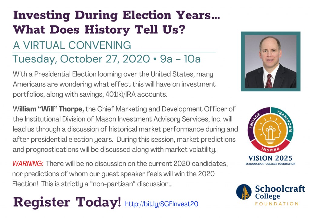 Investing During Election Years Virtual Convening