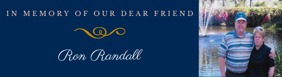 Make a donation in memory of Ron Randall