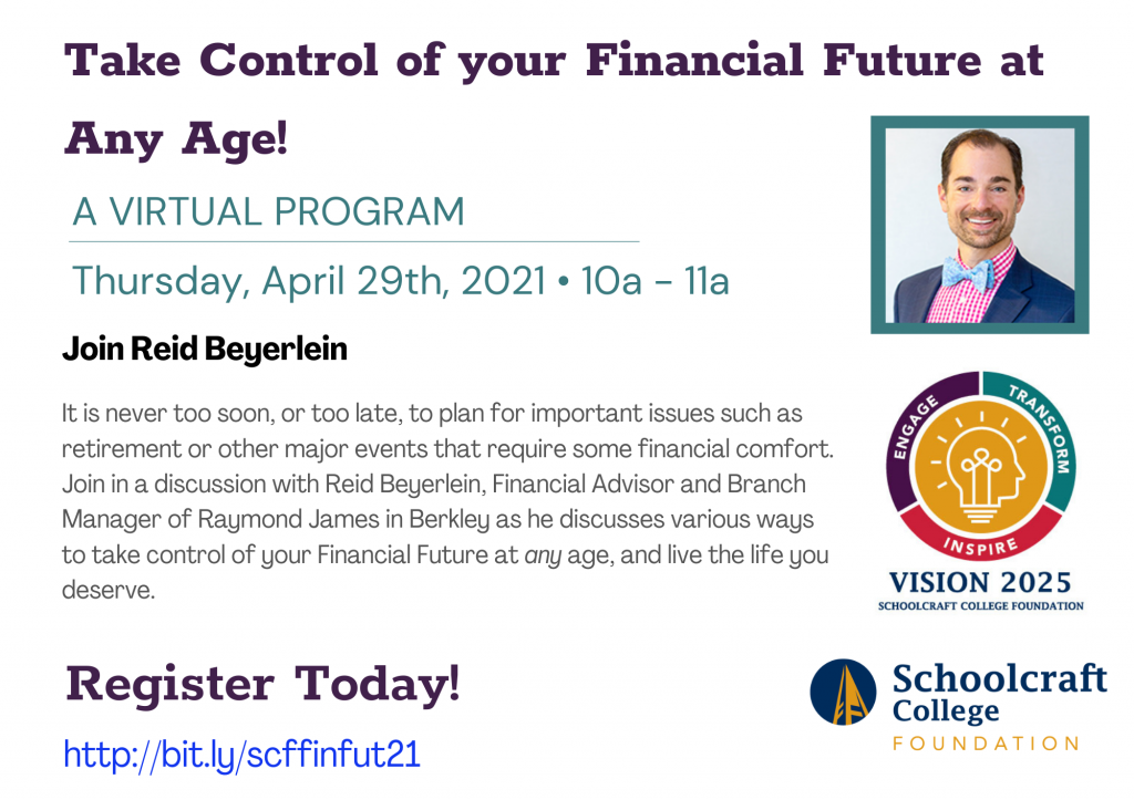 Take Control of your Financial Future at Any Age!
