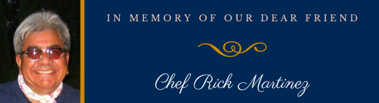 Memorial Donations for Chef Rick Martinez